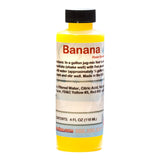 Banana flavored concentrate for shave ice sample