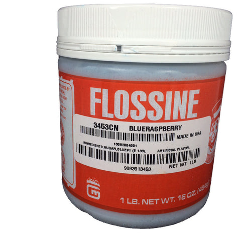 Flossine Blue Raspberry 1 LB
