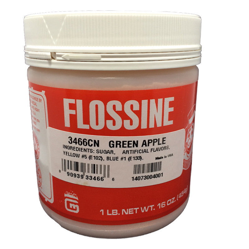 Flossine for cotton candy green apple Gold Medal 3466CN