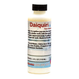 Daiquiri flavored shaved ice concentrate sample