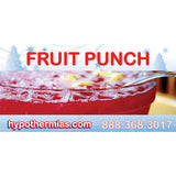 Label for shave ice bottles fruit punch