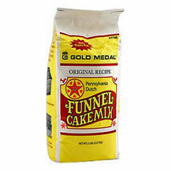 Funnel cake mix flour Pennsylvania Dutch Gold Medal 5100