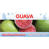 Label for shave ice bottles guava