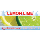 Label for shave ice bottle lemon lime