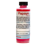 Papaya shaved ice snow cone flavor concentrate 4 ounce sample