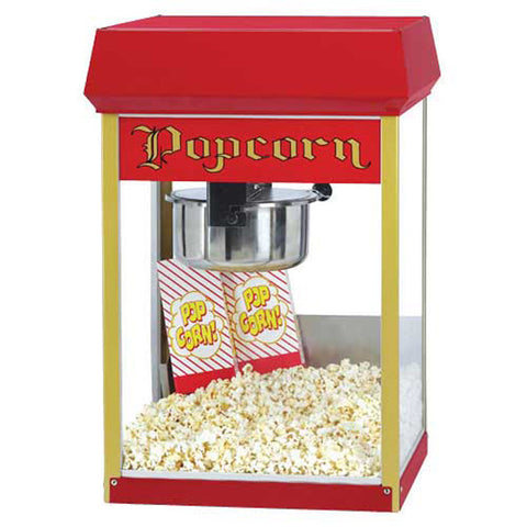 Gold Medal 2408 Red 8 OZ Popcorn Machine