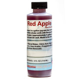 Red apple shaved ice snow cone flavor concentrate 4 ounce sample
