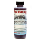 4 ounce red raspberry shaved ice flavor syrup concentrate