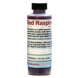 Red raspberry shaved ice snow cone flavor concentrate 4 ounce sample