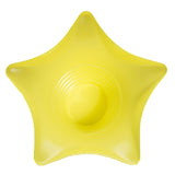 Shaved ice speciality cup star 6 ounce yellow
