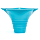 Snow cone cup star blue