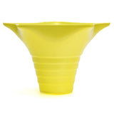 Snow cone cup star yellow