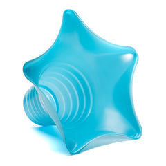 Shaved ice star cup 6 ounce blue