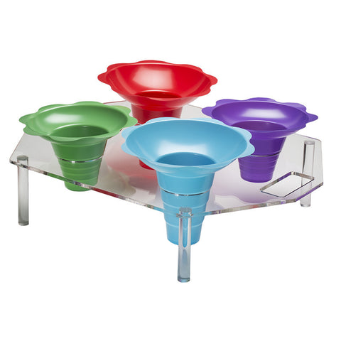 Flower Cup Counter Holder