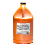 Tangerine shaved ice snow cone flavor concentrate gallon