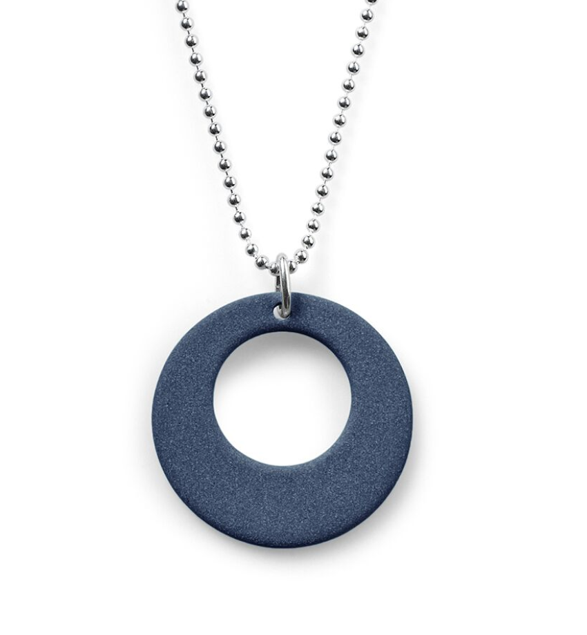 Jewelry - Porcelain Circle Necklace