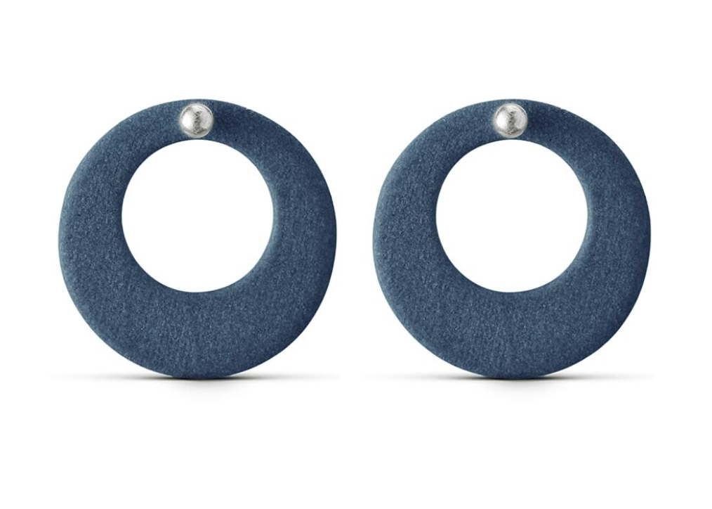 Jewelry - Porcelain Circle Ear Studs