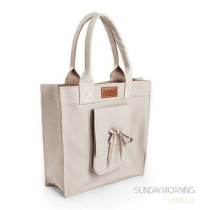 Leather Tote Bag - Sundaymorning