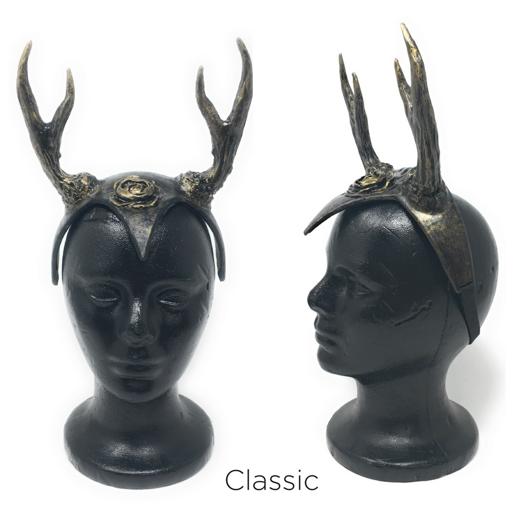 Antler Helm Headdress