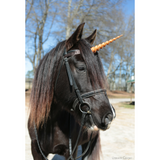 Unicorn Horn for Horses with Adjustable Straps / 8 inch Horn