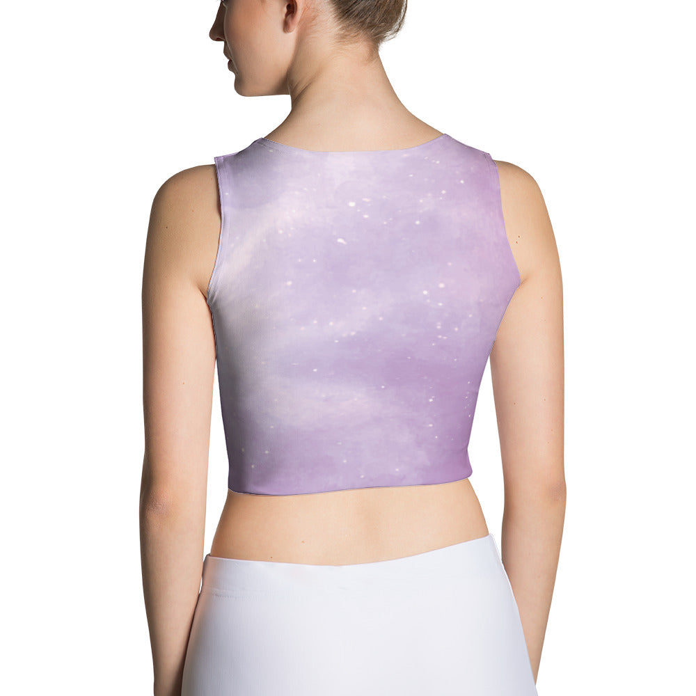 Pastel Galaxy Crop Top