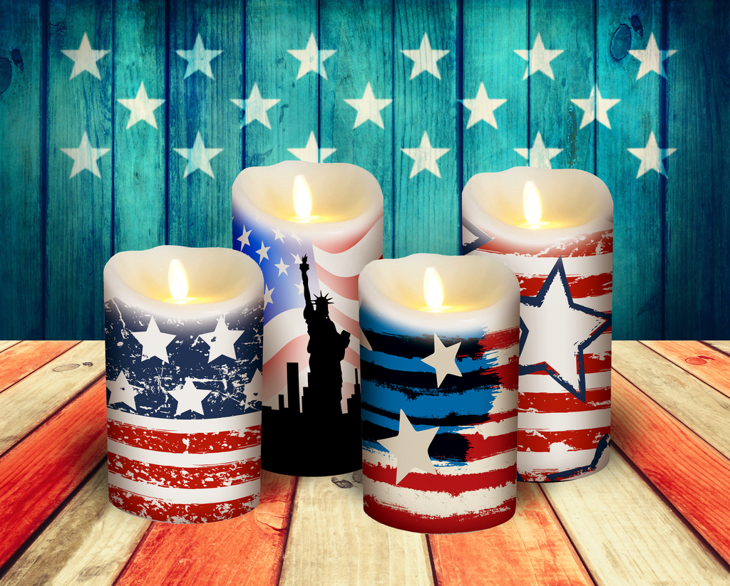 It's our Flameless Decor launch party! Just in time for the 4th!