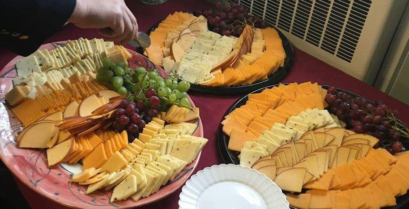 Cheese, Meat & Fruit Platter