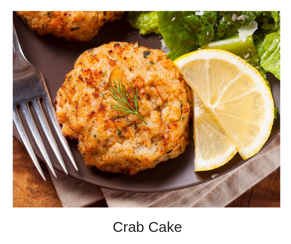 Crab cakes with a lemon caper aioli