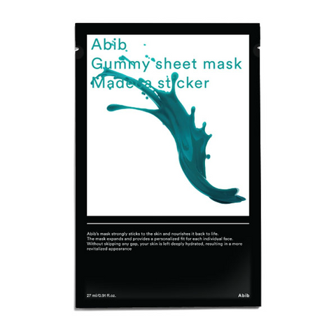 Abib Gummy Sheet Mask Madeca Sticker - Meikki