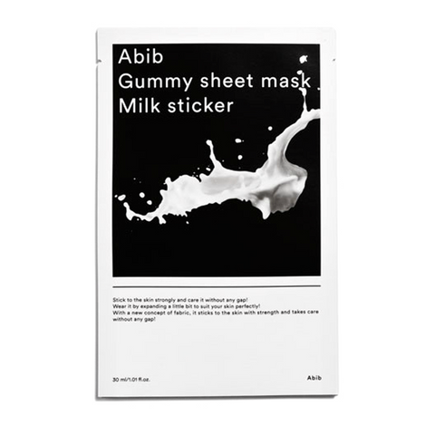 Abib Gummy Sheet Mask Milk Sticker - Meikki