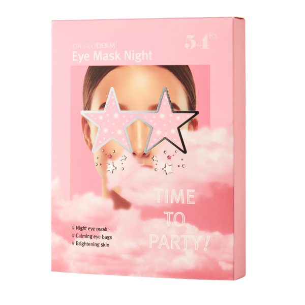 DR. GLODERM Eye Mask Night (10 pcs) - Meikki - Meikki