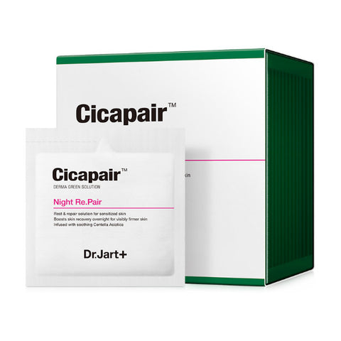 Dr. Jart Derma Green Solution Cicapair Night Repair Cream (3ml x 30pcs) - Meikki