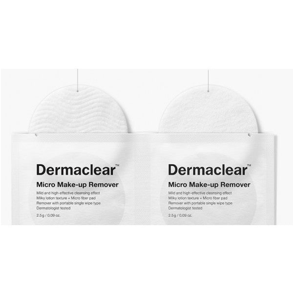 Dr. Jart Dermaclear Micro Makeup Remover Pads 1pack (20pads) - Meikki