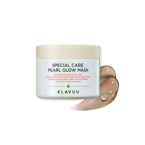 KLAVUU Special Care Pearl Glow Mask 100ml - Meikki
