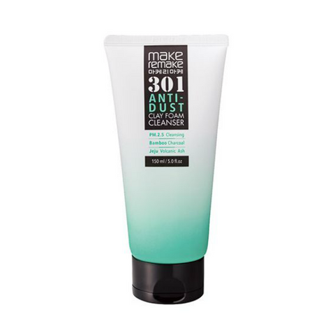 MAKEREMAKE 301 Anti-Dust Clay Foam Cleanser 150 ml - Meikki