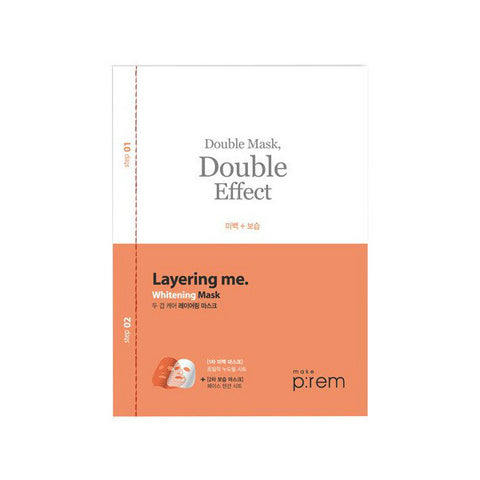 Make P:rem Brightening Layering Double Mask - Meikki