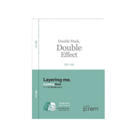 Make P:rem Soothing Layering Double Mask Meikki
