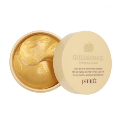 PETITFEE Gold & Snail Hydrogel Eye Patch 60 pz - Meikki