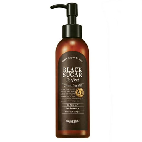 SKINFOOD Black Sugar Perfect Cleansing Oil 200ml - Meikki