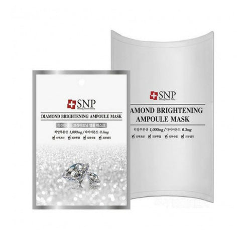 SNP Diamond Brightening Ampoule Mask - Meikki