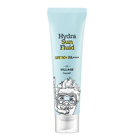 VILLAGE 11 FACTORY Hydra Sun Fluid SPF 50 PA+++ 50ml - Meikki - Meikki