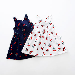 Kids Summer Cherry Dress
