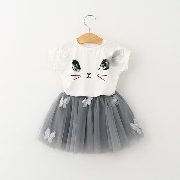Kitty Tutu Set