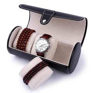 Portable Travel Watch Case Roll