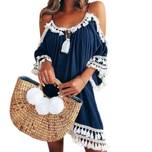 Boho Casual Beach Dress - Plus Size S-5xl