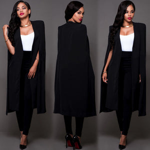 B&W Cape Cardigan