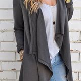 Anastacia - Long Sleeve Loose Sweater Cardigan
