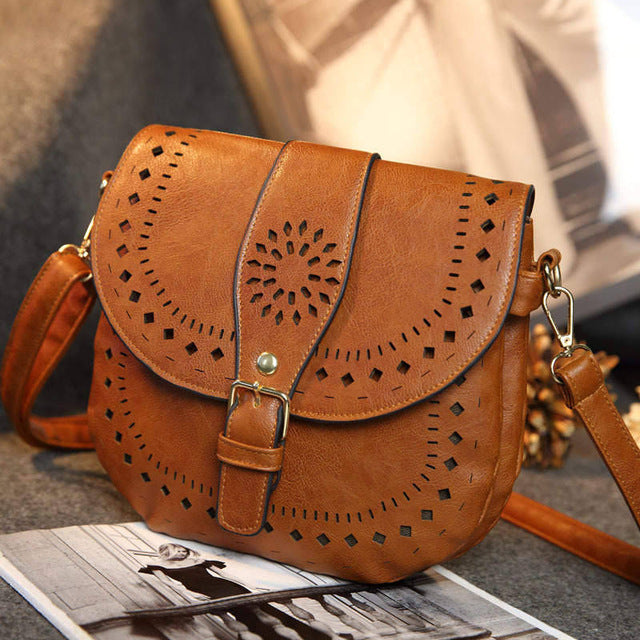 Mabel Saddle Bag Vintage Shoulder