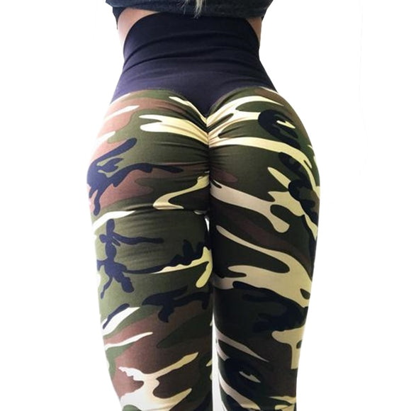 New Shape Women's Camouflage Leggings