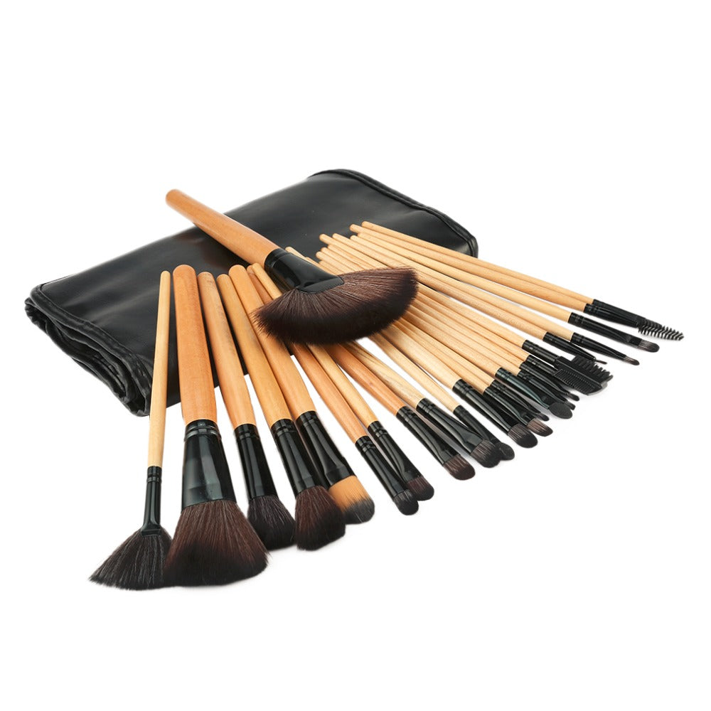 Black Brushes Set